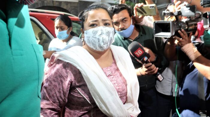 Bharti Singh arrested weed